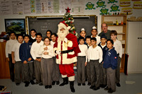 Santa Visits the Classes-6